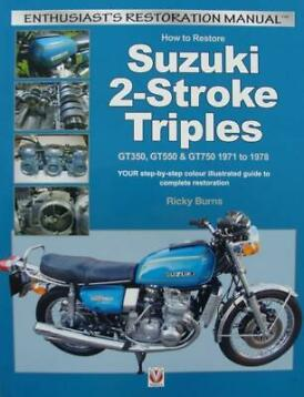 How to Restore Suzuki 2-Stroke Triples GT350, GT550 & GT750