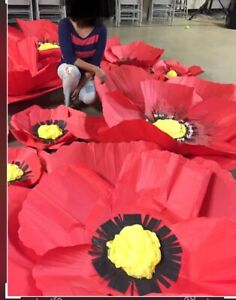 FLOWERS (Giant paper flowers)