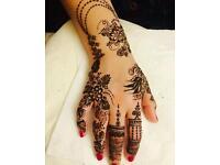 Professional henna/mehndi artist