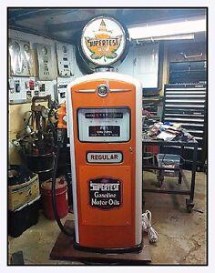 Supertest gas pump restored Bennett 900 series Price Drop