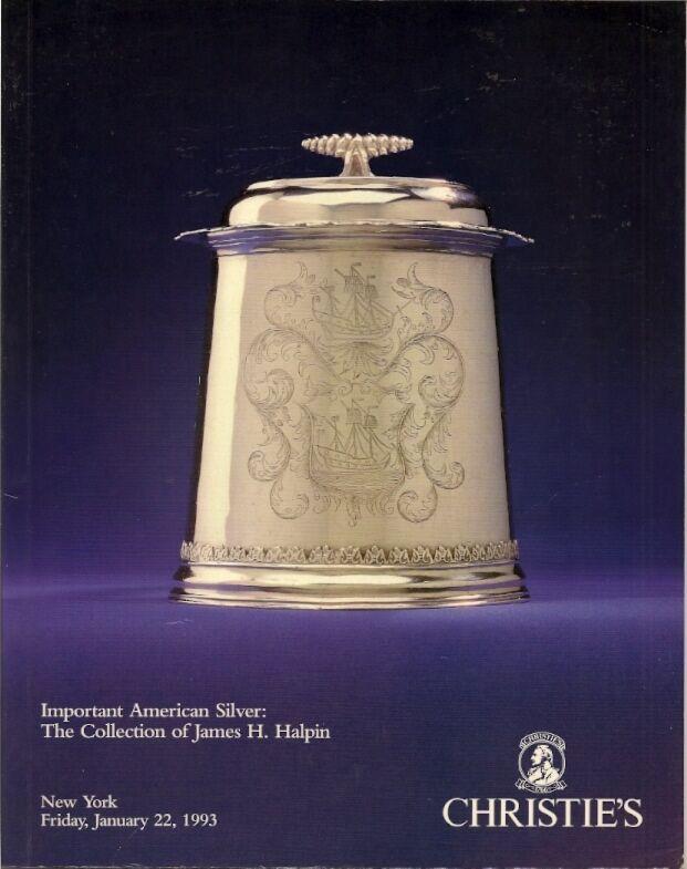 CHRISTIE'S American Silver Halpin Collection Catalog