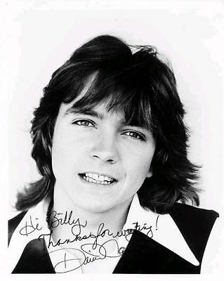 David Cassidy Singer Actor, Signed Autograph Preprint 10x8 Photo Picture