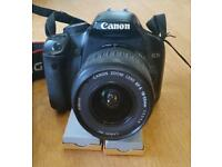 Canon EOS 450d camera and accessories