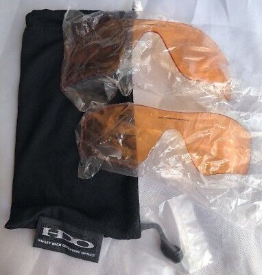Oakley Sunglasses Replacement Lens' Orange Tint With One Nose Piece And (Oakley One Lens Sunglasses)