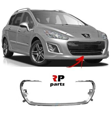 NEW PEUGEOT 308 2007-2011 FRONT BUMBER WITH FOG LIGHT HOLES PRIMED