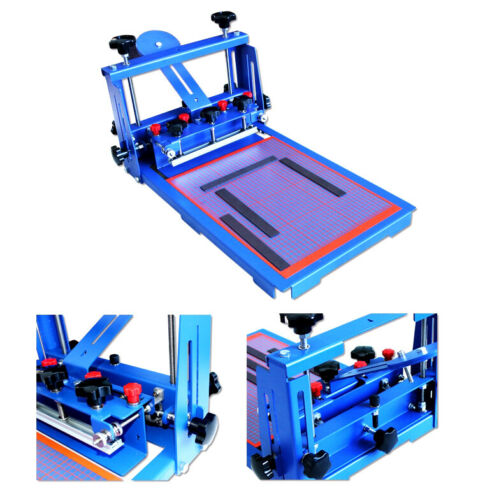 PCB Micro-Registration Screen Printing Press Machine for Circuit Board Printing