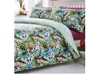 King Size Tropical Paradise Duvet Cover (NEW)
