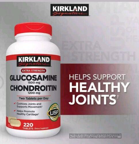 Kirkland Signature Extra Strength Glucosamine Chondroitin 22