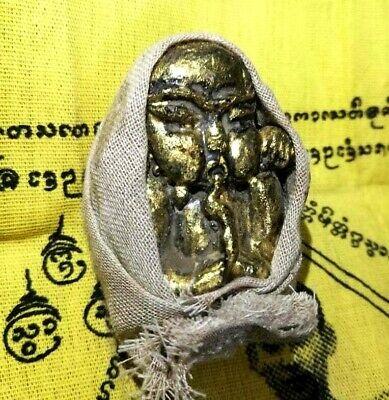 Talisman Kuman thong Ghost boy Khmer Thai amulet  Wealth Love notice warning