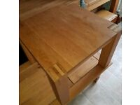 Solid oak square coffee table from Habitat £40 ono