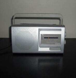 Sanyo AM/FM Portable Radio - Excellent Condition Hunters Hill Hunters Hill Area Preview