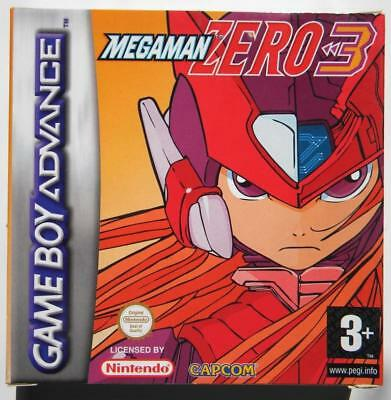 MEGAMAN ZERO 3 NINTENDO GAME BOY ADVANCE