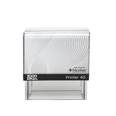 2000 Plus P40 Personalized Custom 5 Line Return Address Self Inking Rubber Stamp