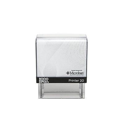 2000 Plus P20 Personalized Custom 3 Line Return Address Self Inking Rubber Stamp