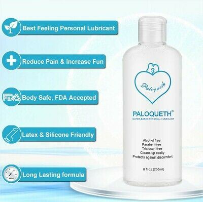Lube For Women, PALOQUETH Personal Lubricants Water Based Lubricant Paraben (Best Water Based Lubricant For Women)