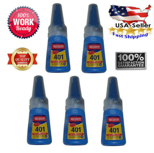 lot of loctite 401 instant adhesive bottle