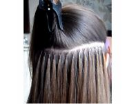 Micro ring hair extensions - Full, 3/4 and half head