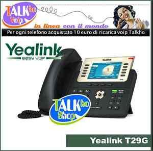 Yealink T29G telefono voip ideale per centalini pbx Asterisk - napoli, Italia - La politica di recesso è indicata nella descrizione dell'inserzione - napoli, Italia