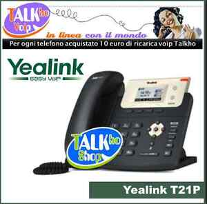 Yealink T21p telefono voip ideale per centalini pbx Asterisk - napoli, Italia - La politica di recesso è indicata nella descrizione dell'inserzione - napoli, Italia