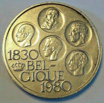 500 Francs, 500 Frank, 1980, Bruxelles Belgique 150 ans Indépendance Belgïe