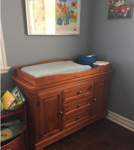 Solid Wood Dresser/Change Table