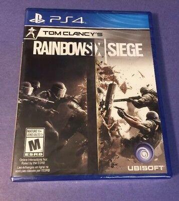 Tom Clancys Rainbow Six Siege  Ps4  New
