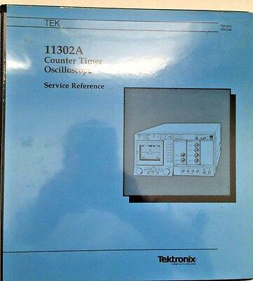 Tektronix 11302a Counter Timer Oscilloscope Service Reference Manual 070-7179-00