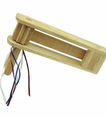 Wooden Handmade Matraca Rattle Ratchet Games Noisemaker , baseball, graduation..](Graduation Noisemakers)