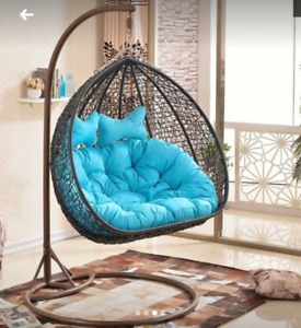 Patio hanging swing chair Single/Double seat