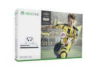 BRAND NEW Xbox one white 1tb with FIFA 17