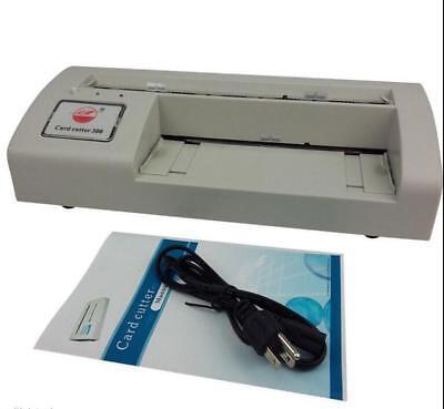 300b Automatic Name Card Slitterbusiness Card Cutting Machine Name Card Cutter