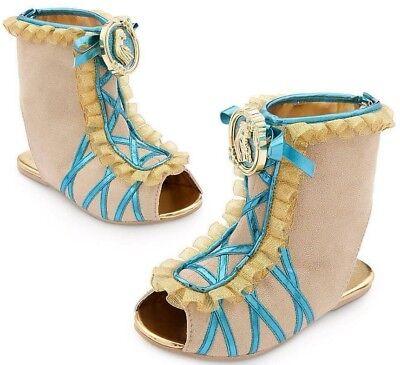 Pocahontas Dress Up (NEW Disney Pocahontas Princess Girls Dress Up Costume Shoes Sz 9/10 11/12 13/1)