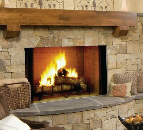 "Majestic Biltmore (SB60) 36"" Wood Burning Fireplace Traditional Brick"