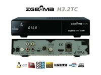 Zgemma H3.2TC Triple tuner Receiver with One Month Complimentary IPTV