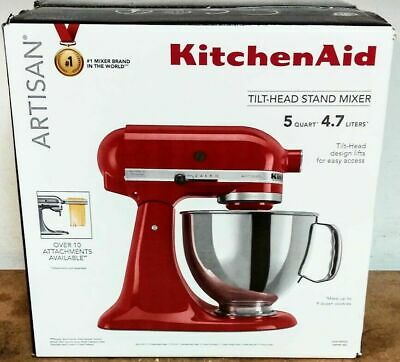 **Brand New** KitchenAid Artisan 5-qt. KSM150PSER Stand Mixer - Empire Red