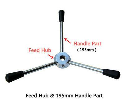 Drill Press Machines Parts-feed Hub Wheel High Quality 195mm Handle Part 1set