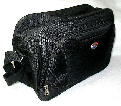 American Tourister Lightweight Travel Bag Shoulder Strap Zippered Front Pocket American Tourister Lightweight Suitcase