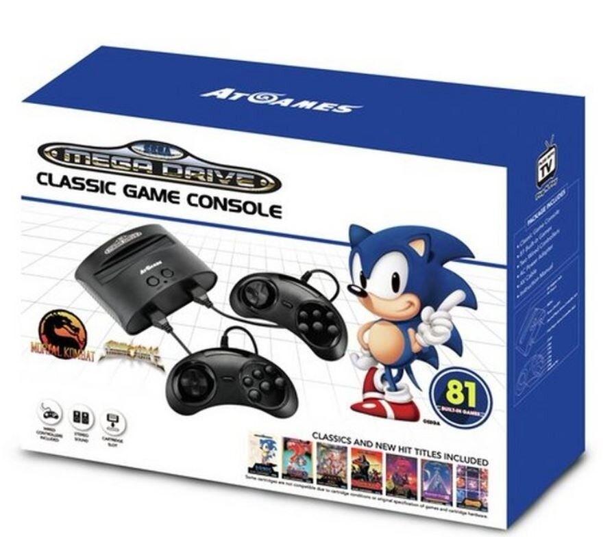 Sega Megadrive Classic Games Console and 81 games