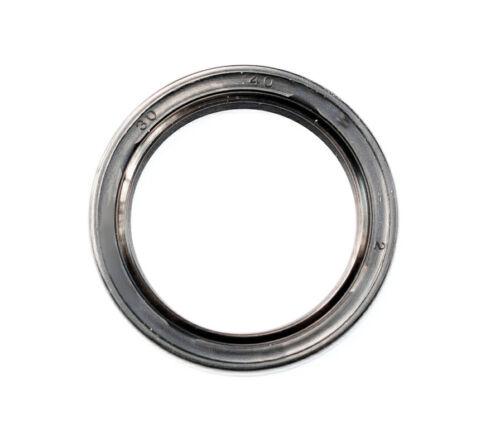 EAI Metric Oil Shaft Seal 30x40x4mm Dust Grease Seal TC Double Lip w/ Spring