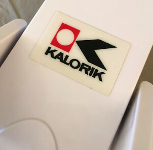 Excellent WORKING Kalorik Steam Press SEE VIDEO