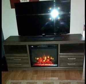 Frantin TV Stand w/Electric Fireplace $300 OBO