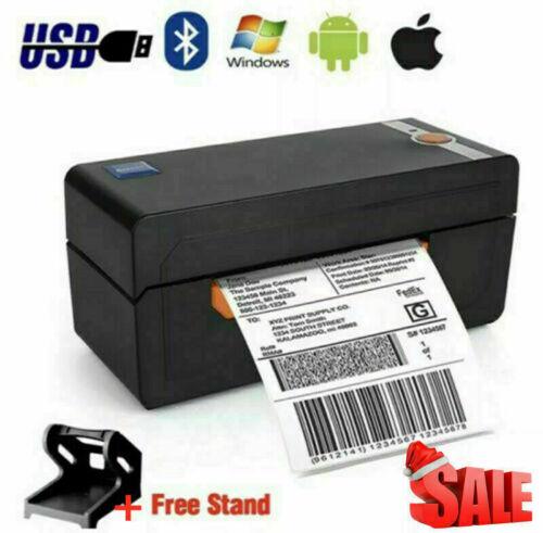 BEEPRT 4x6 High Speed Thermal Shipping Label Barcode Printer W/ label holder BT
