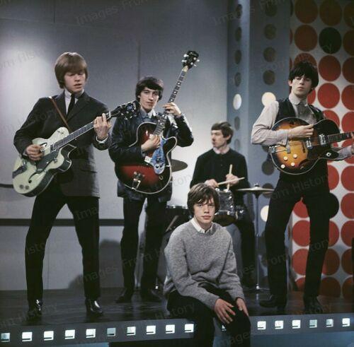 8x10 Print Mick Jagger Keith Richards Brian Jones The Rolling Stones 1963 #RSER