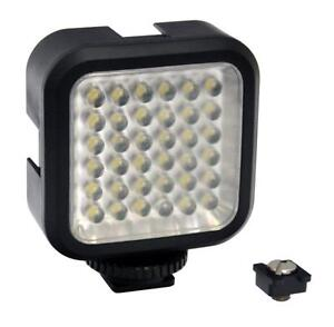 Opteka-VL-5-High-Power-36-LED-Expandable-Video-Light-with-Battery-Open-Box