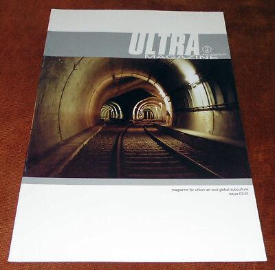 "Graffiti Magazine ""ULTRA"" #03 2001 Walls Trains Montana Belton Ruhrpott Dortmund"