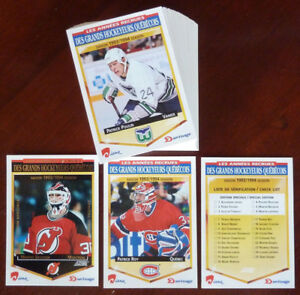 1993-94 NHL Diana Durivage Score Full Set 50/50 + NNO Checklist