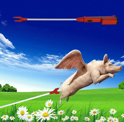25  Hot Shot Livestock Electric Shocker Prod Cattle Pig Wand Rechargeable
