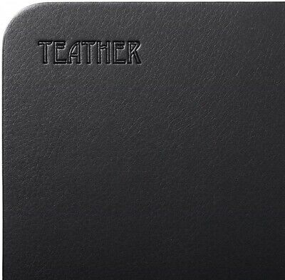 Desk Pad Pu Leather Desk Mouse Mat Blotters Gaming Writing 34x17 Teather