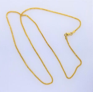 *18kt Solid Gold Chain*