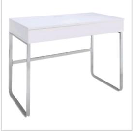 Brand new white gloss desk